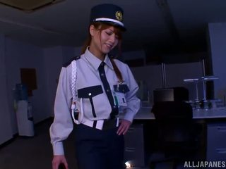 Chinese Police Donna Gives Awesome Footjob To A Burglar