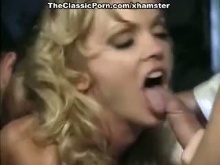 Crystal Wilder, Nikki Dial, Jon Dough in vintage xxx clip