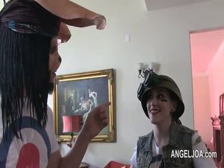 Sexy and tattoed joanna angel porn star