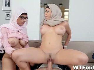 Mia Khalifa & Julianna Vega Amazing Scene