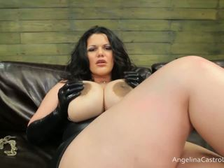 बड़ा titted angelina castro cocks डॉमिनेशन!