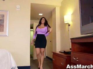 Hot Latina Babe Rides Cock