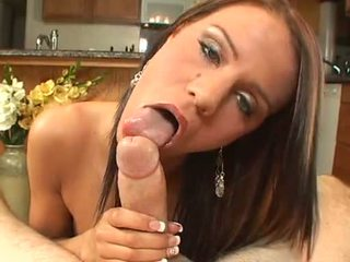 Small sweet titted Addison Rose milks the jizz from a throbbing cock rod