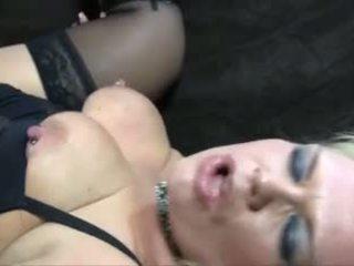 Blonde mature ronde anal