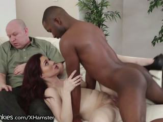 Jessica Ryan Has Incredible BBC Cuckold Sex: Free Porn b4