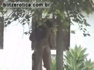 cam, backyard, blowjob, spy