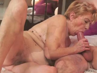 "Kinky old granny Malya loves big dick <span class=""duration"">- 6 min</span>"