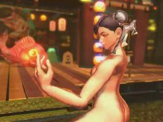 Street Fighter X Tekken ~ NINA LILI VS CHUN LI CAMMY FULL NUDE