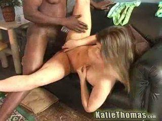 Katie thomas at ang malaki rasta titi