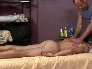 Str8 military man massag by hairy gayman