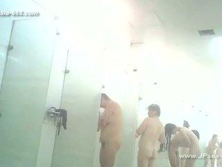 วัยรุ่น, voyeur, การอาบน้ำ, ห้องอาบน้ำ