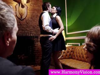 Servants giving a sexshow