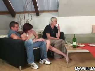 mature thumbnail, moms and boys, older ladies movie