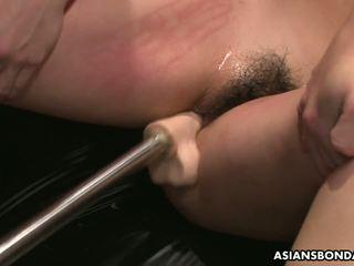 Slamming 她的 同 玩具 所以 她 gets 离 硬: 自由 色情 64