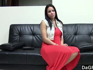 Nice casting with awesome busty latina