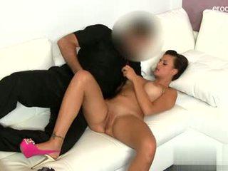 Wet gf cum in mouth