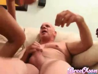 Bree Olson sucking while riding on a hard dick