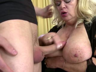 Mom with Big Tits and Ass Takes Young Cock: Free HD Porn 6c