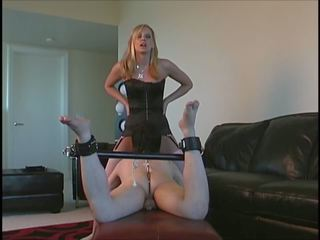 Mistress Making Slave to Lick, Free Rimjob HD Porn 0f