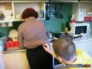 pijpbeurt, redhead, volwassen, russisch