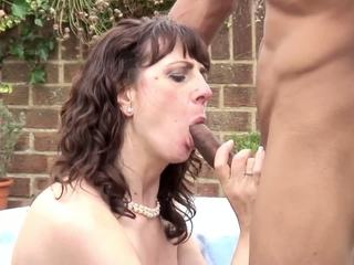 Amateur Wife and Mom Suck and Fuck BBC, Porn 9a