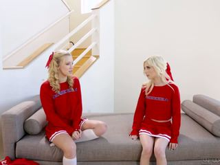 Piper Perri and Bailey Brooke - Rival Cheerleaders: Porn 18