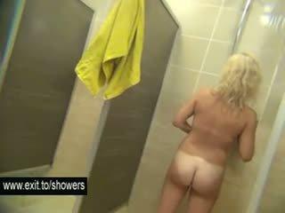 brunette hq, best voyeur, shower