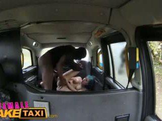 Femalefaketaxi Sexy Cabbie With Big Tits Loves a Big Black Cock Video