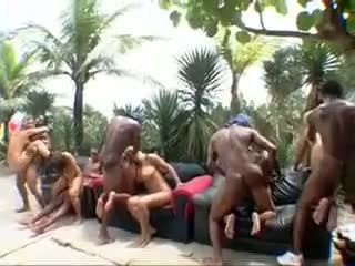 Big Bubble Butt Brazilian Orgy 5- CD1