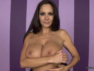 full brunette hot, caucasian, all vaginal masturbation free