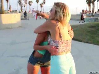 Skateboard Beach Babes Tara Morgan, Mandy Armani