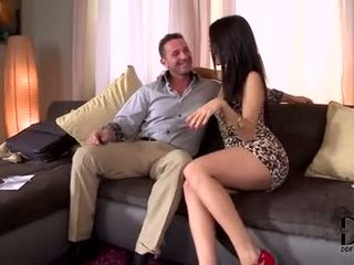 hottest brunette watch, quality oral sex online, check deepthroat best