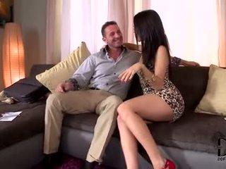 brunette porno, fresh oral sex fuck, deepthroat sex