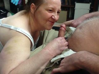 Granny Blowjob And Swallow - ... Redhead Granny Bj & Cum Swallow, Free HD Porn 47