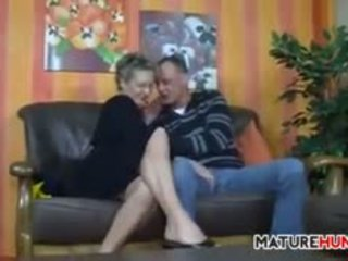 store bryster, bestemor, blowjob, gammel + young
