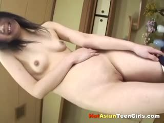 Petite Asian Schoolgirl Fingering