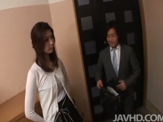 japonês, fêmea amigável, boquete