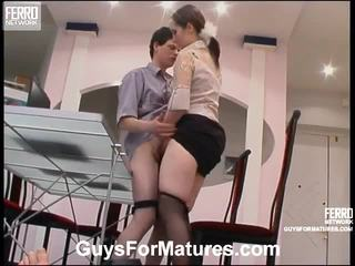 hardcore sex, matures, gammal ung sex