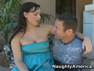 Busty Brunette Brooke Lee Adams Playing A Fat Boner