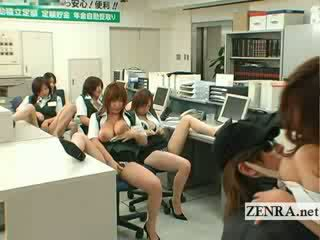 Japonesa post oficina ladrona pechugona masturbation fiesta