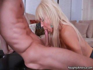 Nadržený blondýnka gymnasts