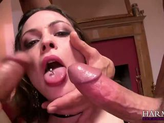 Harmony vision double anal pounded hure