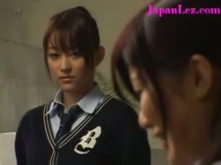 Japoniškas lesbietiškas religious mokykla mergaitė sins su draugas
