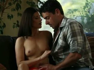 brunette, hardcore sex, orale seks