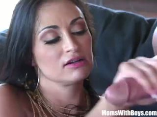MILF Claudia Valentine Gagging Her Pole Dancing Instructor