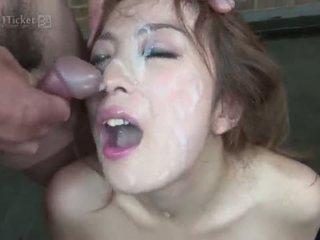 أفضل امرأة سمراء حقيقي, سخونة deepthroat مرح, على الانترنت اليابانية