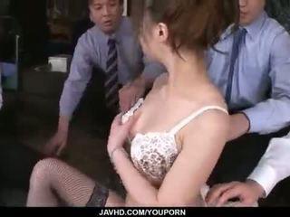 Aiko hirose gets fucked līdz visi viņai birojs colleagues