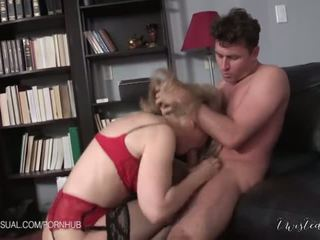Nina Hartley is a Slutty Corporate Stepmother - Porn Video 551