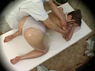 Spycam мода модель seduced по masseur 1