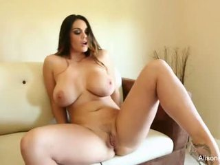 Alison Tyler plays with her pussy